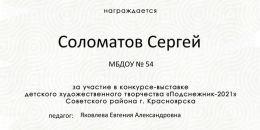 Соломатов Сергей
