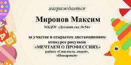 Миронов Максим